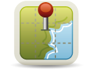 geo-locate app users icon