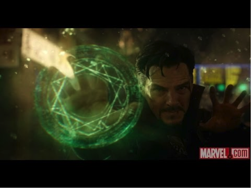Doctor Strange using the TimeStone to predict the future. All he needs is Data Analytics!